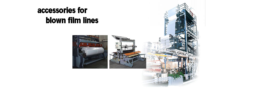 accessories for blown film