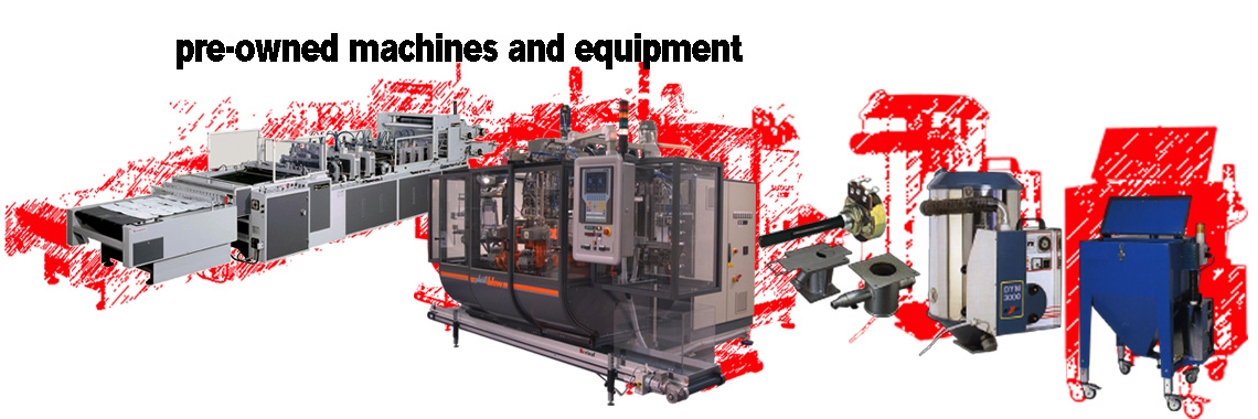 pre-owned machines & equipment